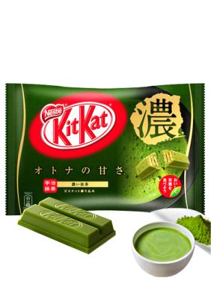 Mini Kit Kats de Matcha Té Verde Intenso Gyokuro Uji  | 12 Unidades
