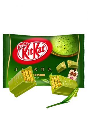 Mini Kit Kats de Té Verde Matcha Gyokuro Uji  | 13 Unidades | Pedido GRATIS!