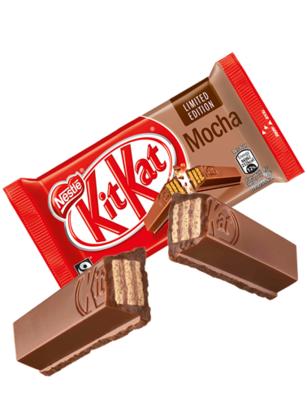 Kit Kats de Mocha | 9 Barritas Dobles