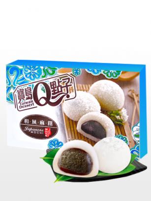 Mochis Daifuku de Coco y Crema de Sésamo | Sakura Box