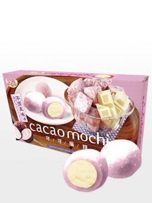 Mochis de Taro con relleno de Chocolate Blanco