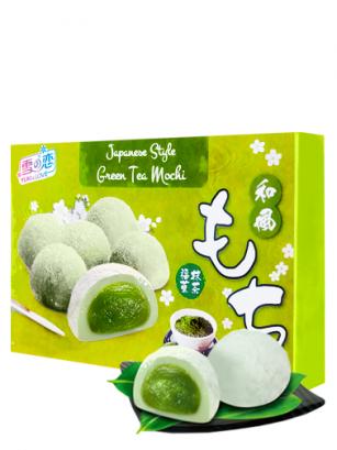 Mochis Daifuku de Crema de Matcha | Receta Tradicional