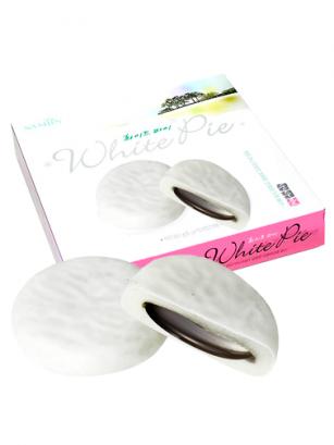 Mochis de Chocolate Blanco rellenos de Azuki 350 grs