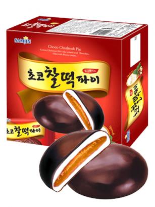 Mochis Coreanos de Chocolate y Crema de Cacahuete 310 grs