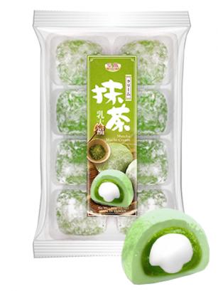 Mochis Daifuku de Matcha y Crema | Premium Kyoto