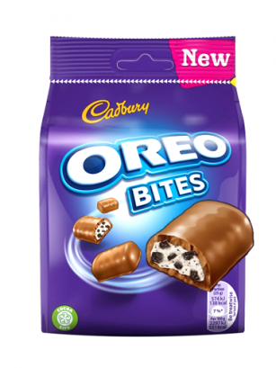 Barritas de Chocolate Cadbury y Oreo 95 grs