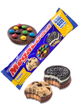 Cups de Mantequilla de Cacahuete Cookie, M&M's y Oreo