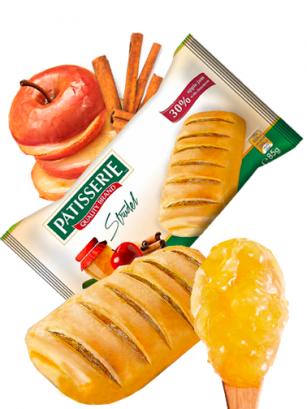 Caña rellena de Mermelada de Manzana y Canela | Patisserie 85 grs