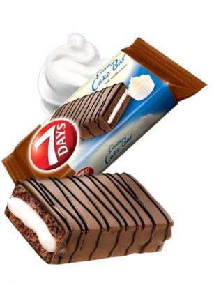 Pastelito de Chocolate y Crema de Vainilla | Combini 7 Days 32 grs