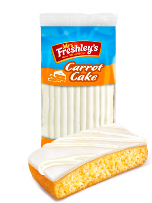 Pastel Carrot Cake | Mrs Freshleys 99 grs | Pedido GRATIS!