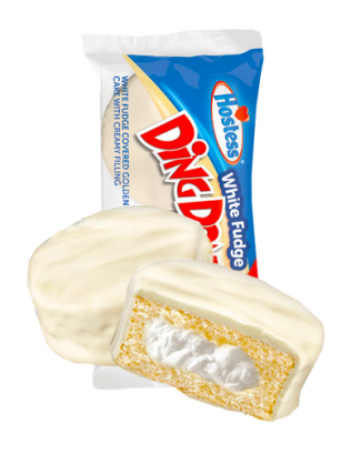 Pastel Twinkie Choco Blanco Ding Dongs | Unidad