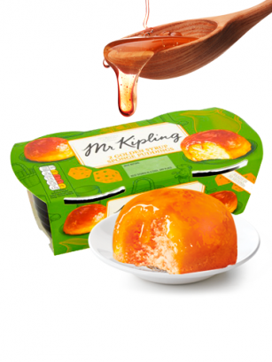 Puddings Bizcochados de Melaza | Mr. Kipling 95 grs