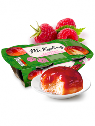 Puddings Bizcochados de Frambuesa | Mr. Kipling