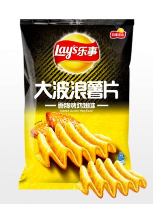 Patatas Lays Xtra Onduladas sabor Alitas | Asia Recipe