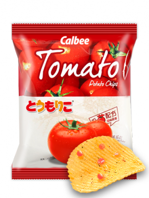 Patatas Chips Calbee Tops Tomato