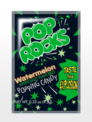 Polvos Pica Pica con Sabor Sandía | Pop Rocks Popping