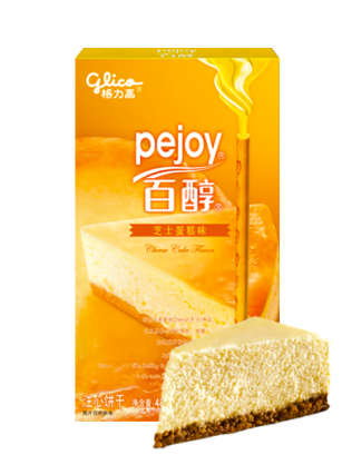 Pocky Pejoy de Chocolate y Cheesecake | Edit. Patisserie