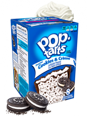 Pop Tarts de Cookies & Creme
