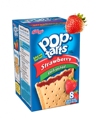 Pop Tarts Strawberry | 8 uds