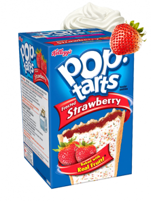 Pop Tarts Frosted Fresa | 8 Unidades