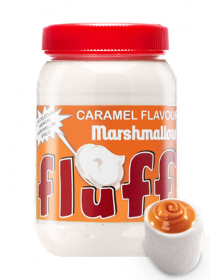 Crema de Nubes Fluff | Sabor Caramelo 213 grs