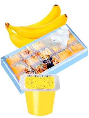 Pack Jelly Pudding | Sabor Plátano | 15 Unidades