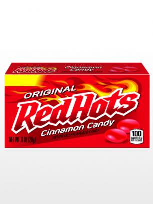 Caramelos Picantes de Canela | Red Hots | Big Box 156 grs.