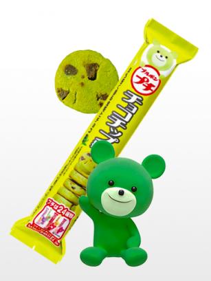 Cookies de matcha y Chocolate | Petit Kuma