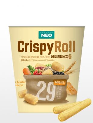 Crispy Rolls Coreanos rellenos de Crema de Cheddar | Cup
