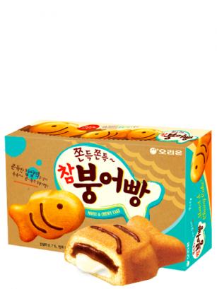 Pasteles Taiyakis rellenos de Crema de Azuki, Chocolate y Mochi