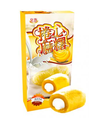 Mochis Cake Roll Cream Banana | Milky & Love | Premium