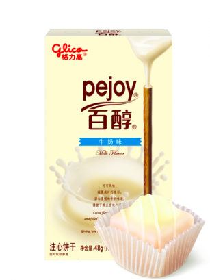 Pocky Pejoy Chocolateado de Crema Leche y Choco Blanco | Edit. Patisserie