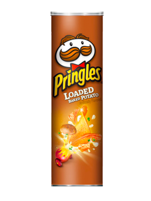Pringles Genuine Sabor a Patatas Gratinadas con Queso