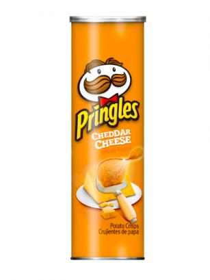 Pringles Genuine Sabor a Queso Cheddar