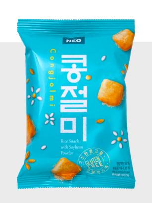 Snack Coreano de Arroz y Soja | Sin Gluten