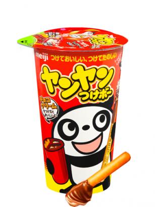 Sticks Cup Panda de Chocolate Meiji y Confeti | Yang Yang Bo