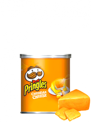 Pringles Genuine Sabor a Queso Cheddar Pocket