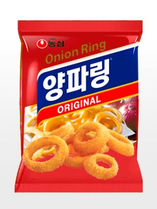 Snack Coreano de Aros de Cebolla | Hot & Spicy