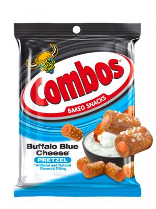 Bocaditos Pretz Sabor Crema Queso Azul estilo Buffalo 178 grs