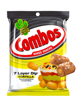 Bocaditos Combos rellenos de Salsa Mexicana para Nachos 178 grs