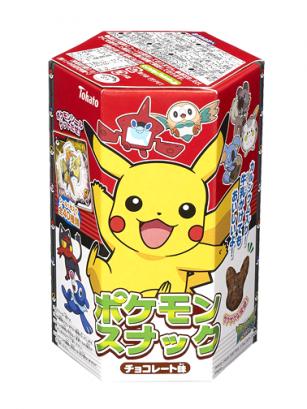 Snack Pikachu Sabor Chocolate 23 grs