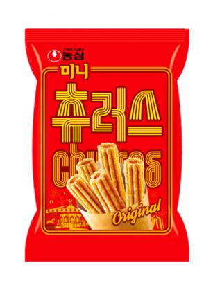 Snack Coreano Churros de Canela
