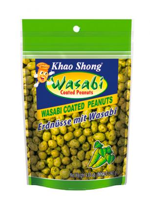 Cacahuetes Tempurizados con Wasabi 140 grs
