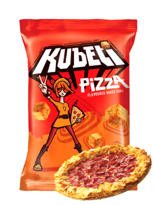 Bocaditos estilo Picatostes Sabor Pizza 35 grs