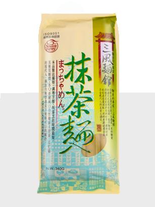Fideos Ramen Finos de Té Verde