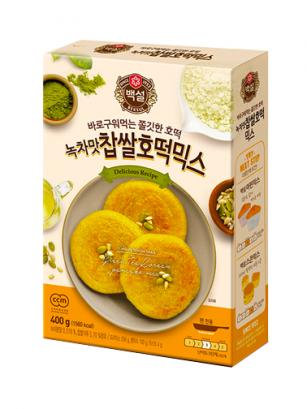 Preparado para Tortitas Coreanas Dulces de Té Verde | Hotteok