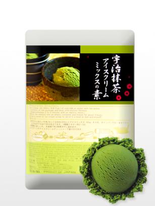 Preparado para Helado de Té Verde Japonés Matcha
