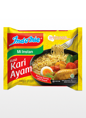 Ramen Indomie de Pollo y Curry