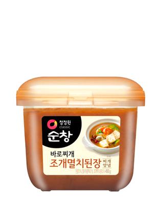 Pasta de Miso Coreano con Anchoa