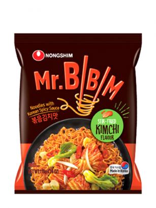 Ramen Coreanos Sofritos con Kimchi 118 grs